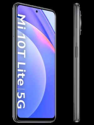 Telekom - Xiaomi Mi 10T Lite 5G - grau (pearl grey) / seitlich