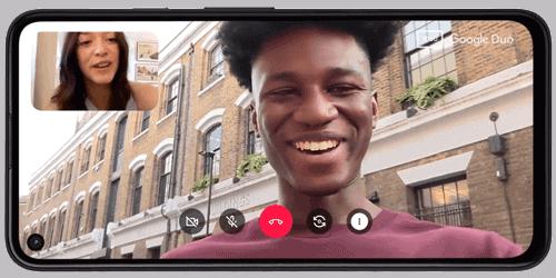 Display vom Google Pixel 4a (5G)