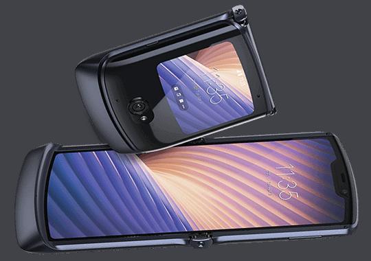 Display vom Motorola Razr 5G