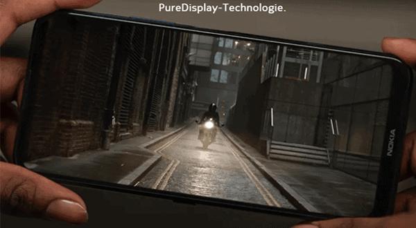 Display vom Nokia 8.3 5G