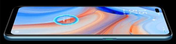 Display vom Oppo Reno4 5G