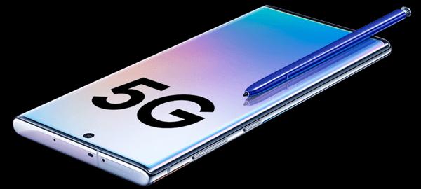 Display vom Samsung Galaxy Note10+ 5G