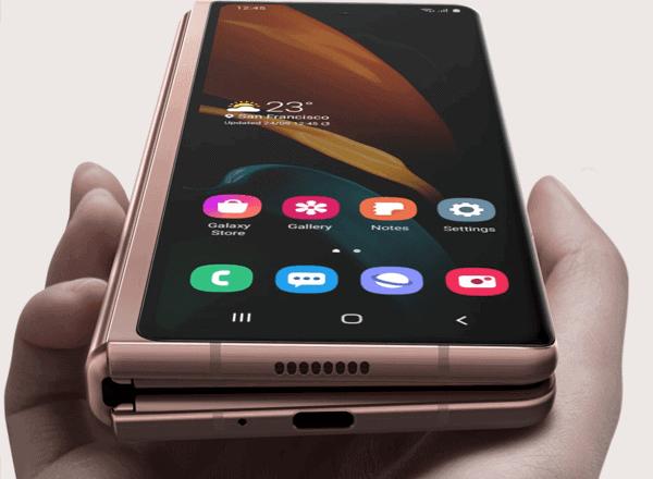 Samsung Galaxy Z Fold2 5G - Display von außen