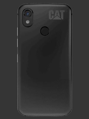 Telekom - CAT S52 - schwarz / hinten