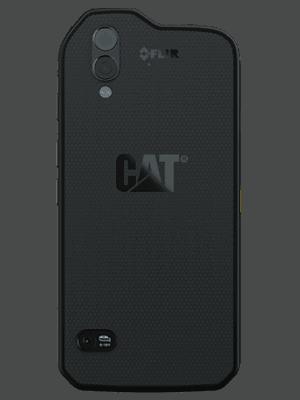 Telekom - CAT S61 - schwarz / hinten