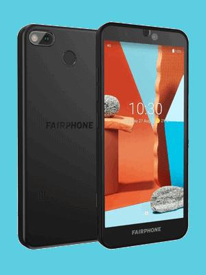 Telekom - Fairphone 3+ - schwarz / seitlich