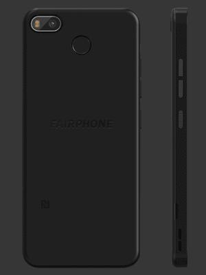 Telekom - Fairphone 3+ - schwarz / hinten