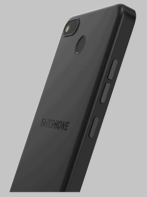 Telekom - Fairphone 3+ - schwarz / schräg