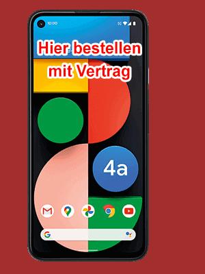 Telekom - Google Pixel 4a 5G - hier bestellen