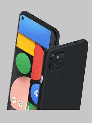 Telekom - Google Pixel 4a 5G - schwarz / schräg