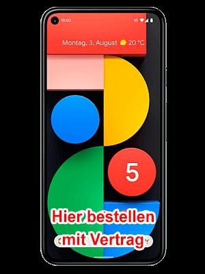 Telekom - Google Pixel 5 - hier bestellen