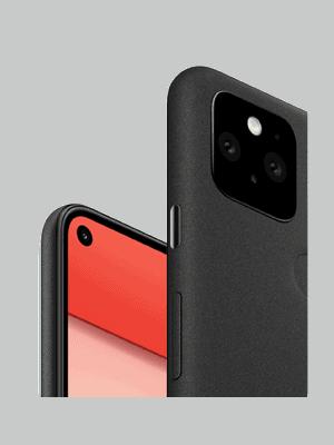 Telekom - Google Pixel 5 - schwarz / seitlich