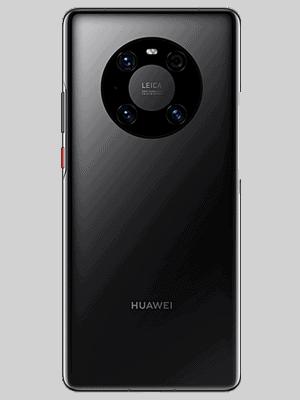 Telekom - Huawei Mate40 Pro 5G - black / schwarz - hinten