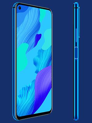 Telekom - Huawei nova 5T - blau / seitlich