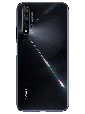 Telekom - Huawei nova 5T - schwarz / hinten