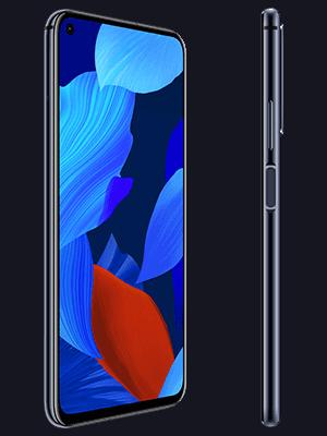Telekom - Huawei nova 5T - schwarz / seitlich