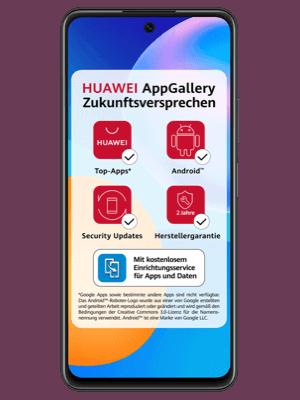 Telekom - Huawei P smart 2021 - AppGallery Zukunftsversprechen