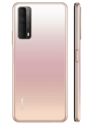 Telekom - Huawei P smart 2021 - blush gold - hinten / seitlich