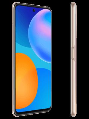 Telekom - Huawei P smart 2021 - blush gold - seitlich