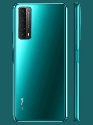 Telekom - Huawei P smart 2021 - crush green / grün - seitlich / hinten