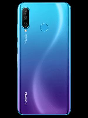 Telekom - Huawei P30 lite New Edition - blau / peacock blue - hinten