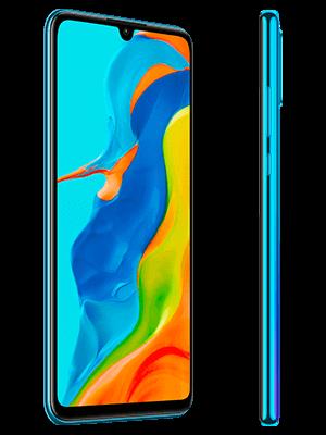 Telekom - Huawei P30 lite New Edition - blau / peacock blue - seitlich