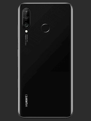 Telekom - Huawei P30 lite New Edition - schwar / midnight black - hinten