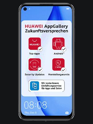Telekom - Huawei P40 lite - AppGallery Zukunftsversprechen