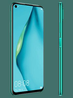 Telekom - Huawei P40 lite - grün / seitlich