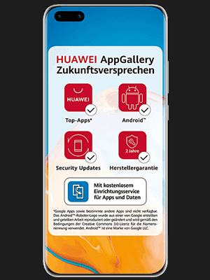 Telekom - Huawei P40 Pro+ 5G - AppGallery Zukunftsversprechen