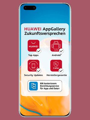 Telekom - Huawei P40 Pro 5G - AppGallery Zukunftsversprechen