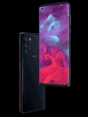 Telekom - Motorola Edge 5G - Ansicht schräg