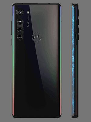 Telekom - Motorola Edge 5G - schwarz / hinten
