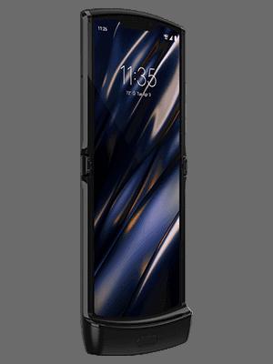 Telekom - Motorola Razr 5G - aufgeklappt / vorn