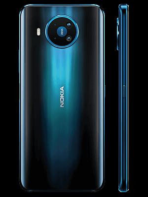 Telekom - Nokia 8.3 5G - Polarnacht / hinten - seitlich