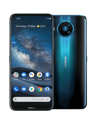 Telekom - Nokia 8.3 5G - Polarnacht (vorn / hinten)