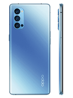 Telekom - Oppo Reno4 Pro 5G - galactic blue / blau