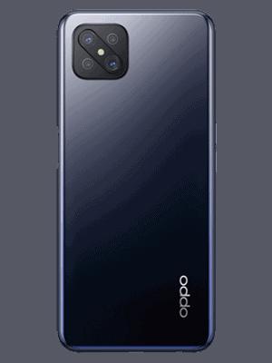 Telekom - Oppo Reno4 Z 5G - ink black / schwarz - hinten