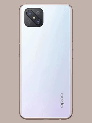 Telekom - Oppo Reno4 Z 5G - dew white / weiß - hinten