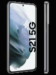 Telekom - Samsung Galaxy S21 5G - grau (phantom gray / grey) - seitlich