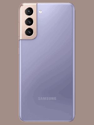Telekom - Samsung Galaxy S21 5G - phantom violet - hinten