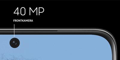 Frontkamera vom Samsung Galaxy S21 Ultra 5G