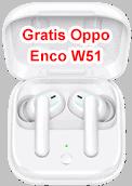 Oppo Enco W51 - gratis Bluetooth Kopfhörer