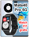 Telekom - Huawei Mate40 Pro 5G mit gratis Watch Fit