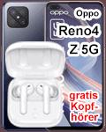 Oppo Reno4 Z 5G bei Telekom - mit gratis Kopfhörer
