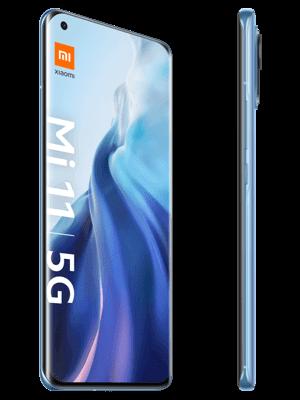 Telekom - Xiaomi Mi 11 5G - horizon blue (blau) / seitlich