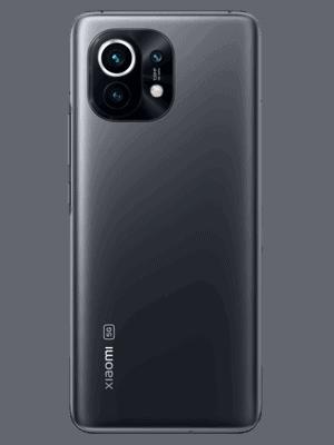 Telekom - Xiaomi Mi 11 5G - midnight gray (grau) / hinten