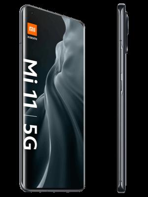 Telekom - Xiaomi Mi 11 5G - midnight gray (grau) / seitlich