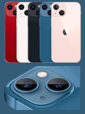 Telekom - Apple iPhone 13 mini - Übersicht Farben